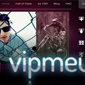 vipmeup - my new project